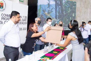 Actividad cafetalera impulsa economía del estado: Mendoza Álvarez