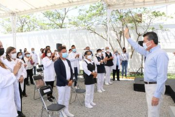 Reactivan módulos para segunda dosis anti COVID-19 a población adulta mayor de Tuxtla Gutiérrez
