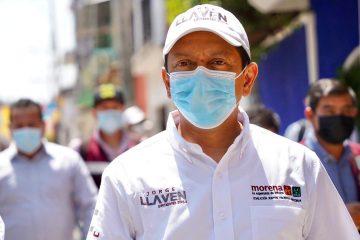 Realiza Llaven Abarca brigadeo en calles y mercado de Chiapa de Corzo