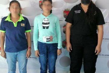 Localiza FGE a menor con denuncia de persona ausente en el municipio de Palenque