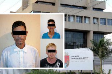 Detiene FGE a presuntos  homicidas  en Suchiate