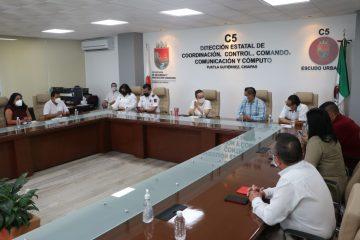 Ratifica SSyPC compromiso con la Federación para garantizar el orden y la paz en los comicios electorales