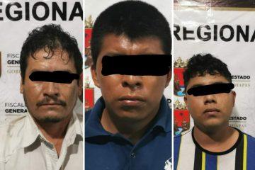 Fiscalía de Chiapas desarticula banda de secuestradores en Frontera Corozal