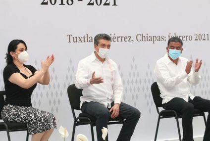 Legislativo de Chiapas coordina trabajos para la entrega-recepción de los ayuntamientos