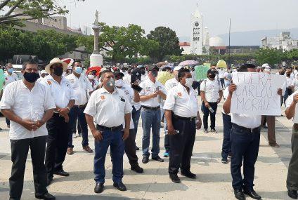 Administración de Carlos Morales violentó derechos de trabajadores: Frente de Sindicatos