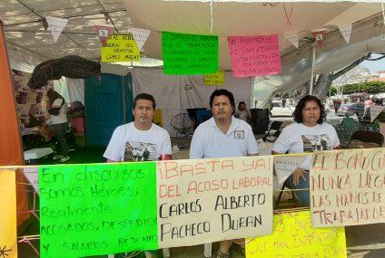 «Estamos con agua y miel», dicen huelguistas a 10 días de ayuno forzado
