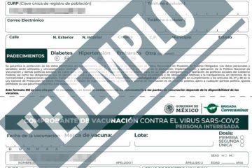 Del 3 al 7 de mayo, vacunación a personas de 50 a 59 años, en Chiapas