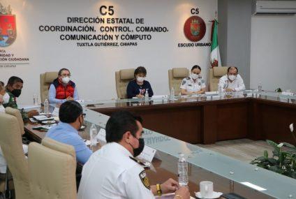 Instalan Mesa de Estrategia de Seguridad y Protección en el Contexto Electoral