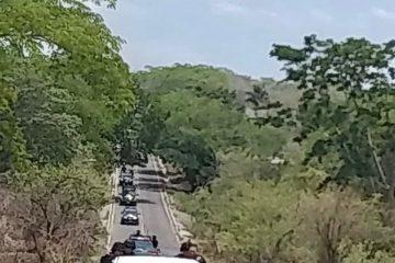 Fuerzas de Seguridad estatal y federal mantienen operativo disuasivo en Venustiano Carranza