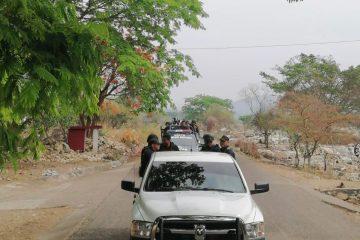 Continúa presencia de fuerzas de seguridad en Venustiano Carranza