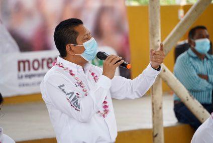 En Totolapa vamos a romper las cadenas de la corrupción y ganará la voluntad del pueblo: Llaven Abarca