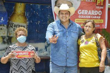 En Tonalá la ciudadanía merece certeza jurídica en sus propiedades: Gleason Caram