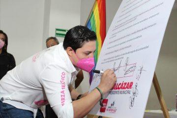 Haremos una política incluyente, igualitaria y tolerante: Eduardo Balcázar