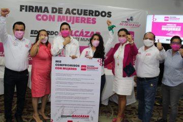 Diseñaré políticas públicas a favor de las niñas, adolescentes y mujeres: Eduardo Balcázar