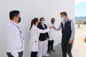 Fortalecen servicios de salud en los hospitales de las Culturas y de la Mujer, en San Cristóbal de Las Casas