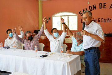 Llaven Abarca será un digno representante del pueblo en la Cámara de Diputados: Fecotrach