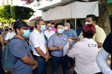 Trabajadores del SMAPA inician paro de labores