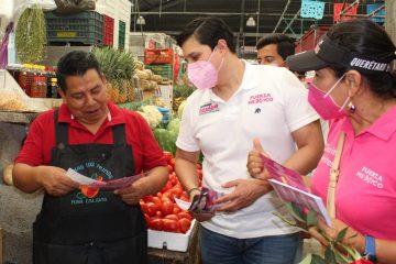 Solo con desarrollo económico potencializaremos la economía para Tuxtla: Eduardo Balcázar