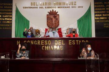 Congreso aprueba licencia de regidora del Ayuntamiento de Tuxtla Gutiérrez