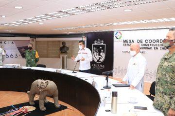 Chiapas, primera entidad en iniciar vacunación anti COVID-19 a población de 40 a 49 años