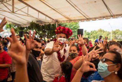 Agradece Willy Ochoa respaldo de las personas en campaña electoral
