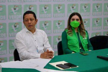 Llaven Abarca y nuevos liderazgos del PVEM cierran filas por la transformación de Chiapas