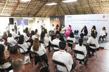 Rutilio Escandón refrenda compromiso y respaldo a las acciones a favor de las mujeres y niñas