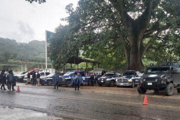 Despliega SSyPC operativo disuasivo en la región de Frontera Comalapa
