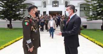 """Imparte Rutilio Escandón Conferencia """"La política de Chiapas en materia de desarrollo y seguridad»"""