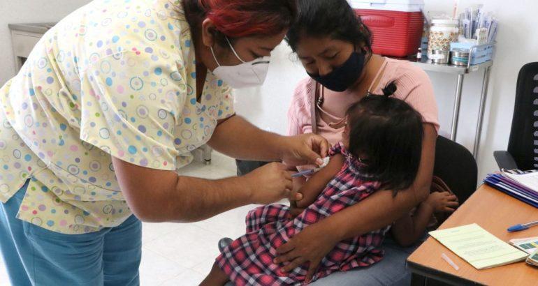 En Chiapas se amplía período de vacunación contra sarampión y rubéola en niñas y niños