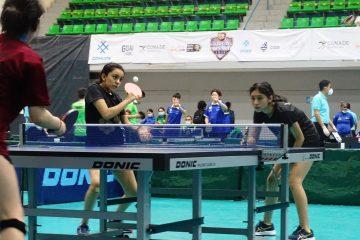 Chiapas Sub 15 Femenil de Tenis de Mesa gana bronce en los Nacionales Conade 2021