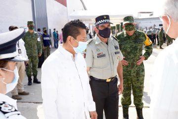 Reconoce Llaven Abarca contribución de la Guardia Nacional para la paz y seguridad en Chiapas
