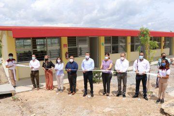 Rutilio Escandón inaugura espacios educativos en Cecyte 34 de Tuxtla Gutiérrez