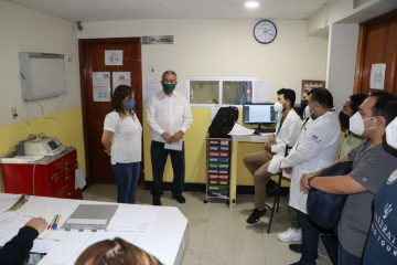 Visita Zepeda Soto a policías que resultaron lesionados en Pantelhó