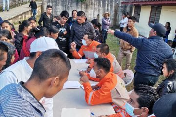 Continúa atención a la población desplazada de Pantelhó y Chenalhó