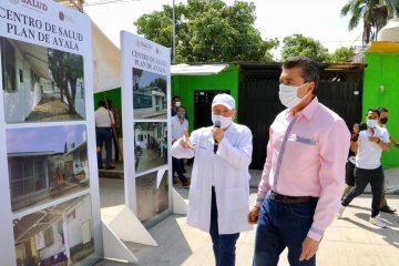 En Tuxtla Gutiérrez, entregan reconversión del Centro de Salud de Plan de Ayala