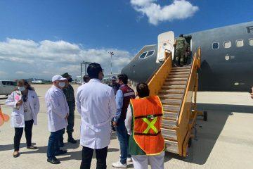 Arriba a Chiapas nuevo lote de 162 mil 470 vacunas anti COVID-19