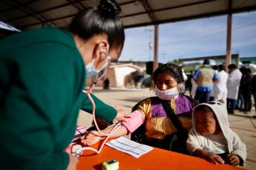 Vacunación anti COVID-19 llega a San Juan Chamula