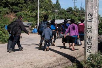 Reporta el Frayba 200 desplazados por conflcito Pantelhó-Chenalhó