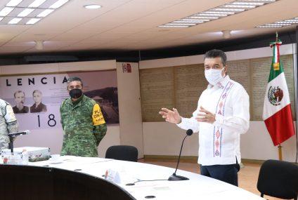 Reitera Rutilio Escandón llamado a vacunarse contra el COVID-19 para proteger la salud y la vida