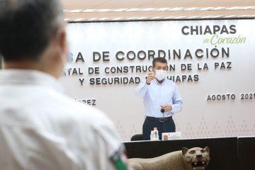 Este miércoles inicia vacunación a jóvenes de 18 años en adelante, en Tuxtla y Tapachula: Rutilio Escandón