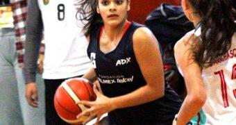 La chiapaneca Aranxa Isabella Escobar Rodas al Preseleccionado Nacional de Básquetbol U17