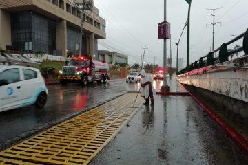 Por pronóstico de temporal de lluvias, instituciones de gobierno lanzan alerta
