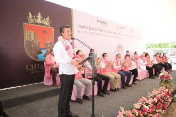 Chiapas contará con 16 clínicas para la Atención de Parto Humanizado: Rutilio Escandón