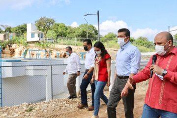 Rutilio Escandón inaugura el Sistema de Tratamiento de Aguas Residuales de Berriozábal