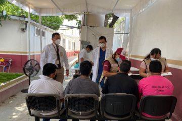 Promueven vacunación en Migrantes que se encuentren en Tuxtla Gutiérrez
