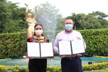 Pacta Canaco Tuxtla y SAGyP para impulsar economía