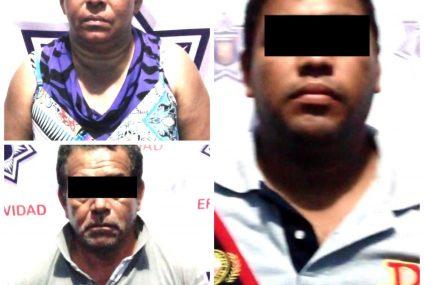 Captura la FGE a tres personas por narcomenudeo
