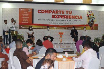 Maestros de Chiapas «comparten su experiencia» obtenida durante la educación a distancia