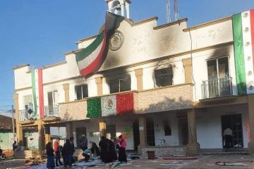 Queman palacio municipal y la única patrulla de Altamirano, Chiapas